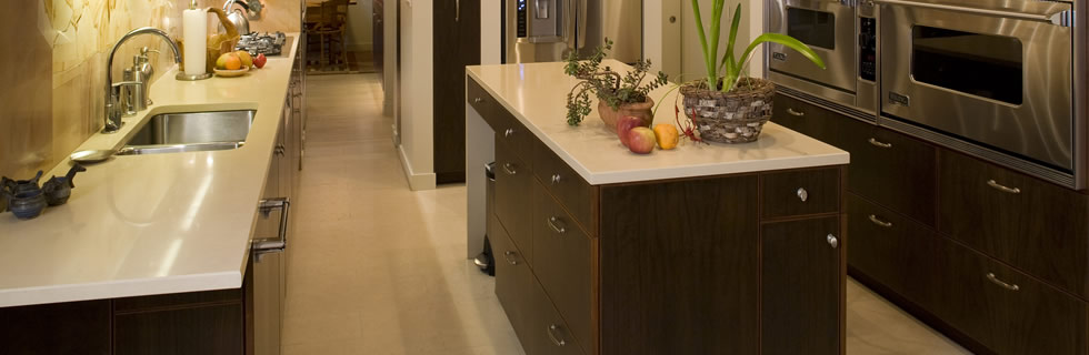 USA made Cork Flooring for your kitchen. 100% Cork oak wood tiles for floors, walls or ceiling.
